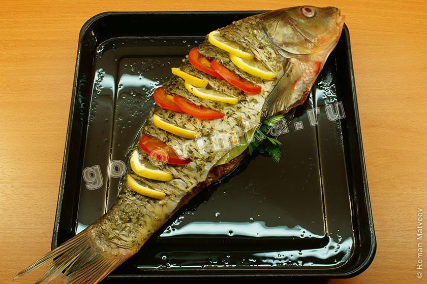 Рыба в духовки пошаговое