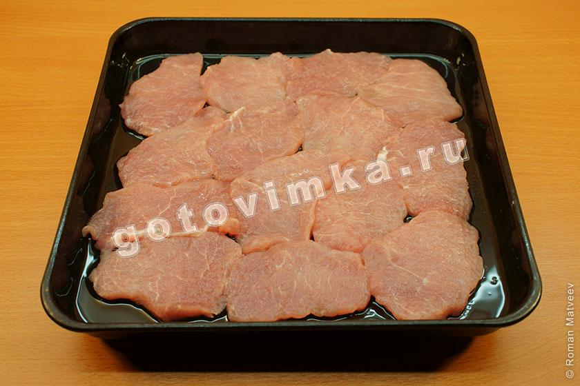 Мясо по-французски рецепт пошагово в