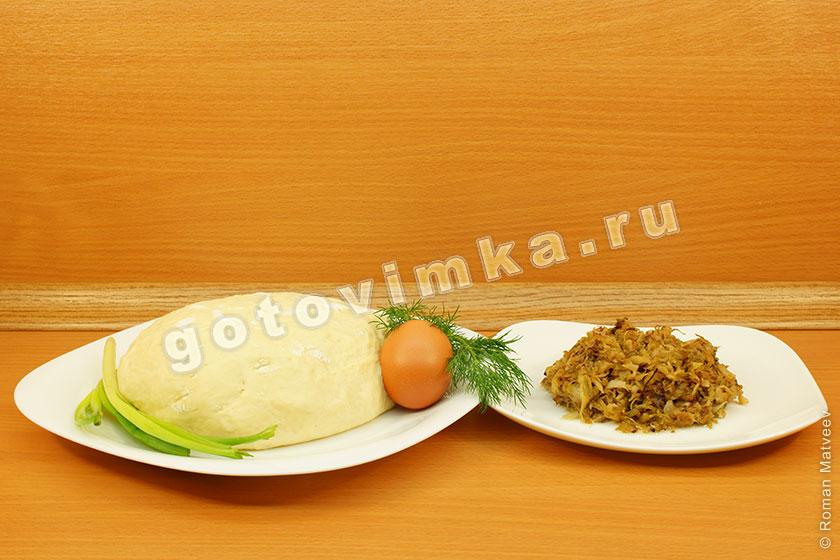Пошаговый рецепт приготовления пирожков с капустой 84