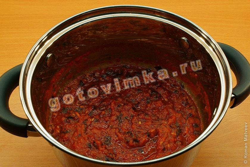 Паста в томатном соусе пошаговый рецепт с
