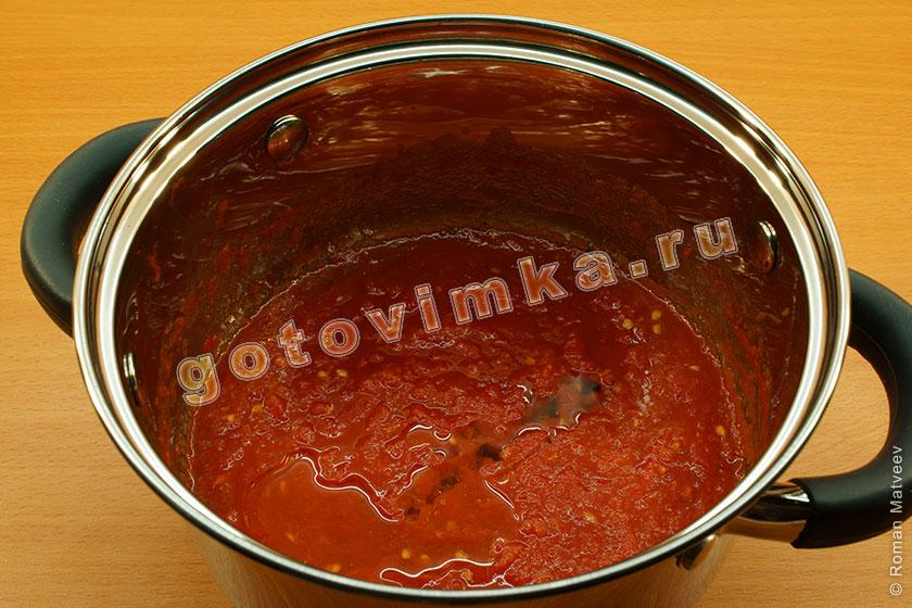 Соус к спагеттиы простой