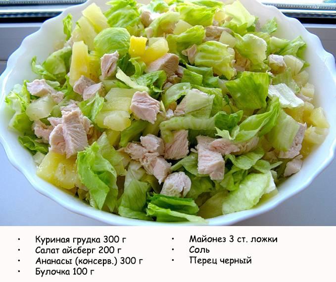 Салат Цезарь с курицей и с помидорами, пошаговый рецепт с фото